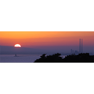 Poolbeg Sunset