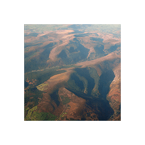 Wicklow from the Air