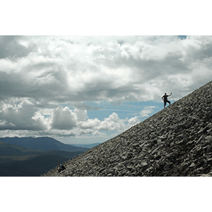 Climbing the Reek