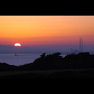 Poolbeg Sunset